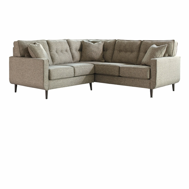 Benchcraft – Dahra 2 Piece Sectional With Laf Loveseat Regarding Turdur 2 Piece Sectionals With Laf Loveseat (View 2 of 15)