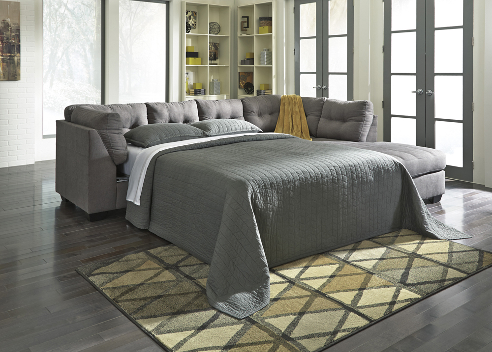 Benchcraft – Maier 2 Piece Sectional With Laf Full Sofa Pertaining To Aspen 2 Piece Sleeper Sectionals With Laf Chaise (View 8 of 15)