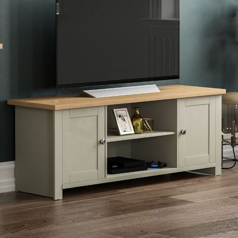 Best And Newest 57'' Led Tv Stands With Rgb Led Light And Glass Shelves With Regard To Tv Stands (View 5 of 15)