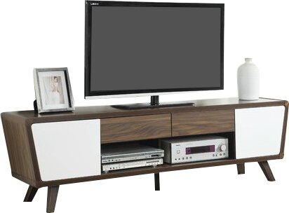 """Best And Newest Bustillos Tv Stands For Tvs Up To 85"""" In George Oliver Emelie Tv Stand For Tvs Up To 85"""" & Reviews (View 11 of 15)"""