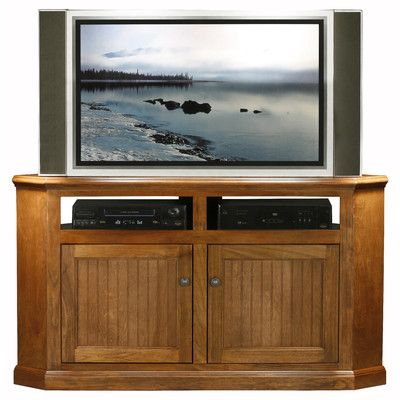 Best And Newest Corner Tv Cabinets With Glass Doors Throughout Didier Birchwood Corner 57 Tv Stand Door Type: Plain Glass (View 2 of 15)