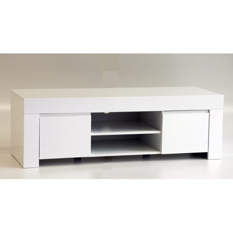 Best And Newest Modern White Gloss Tv Stands Regarding Amalia 140Cm High Gloss Tv Stand – Tv Stands (1805) – Sena (View 14 of 15)