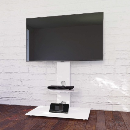 Blaupunkt Tv Stand With Brackets – Black (View 10 of 15)