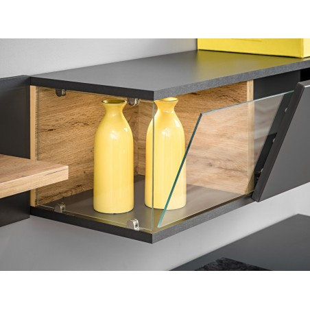 Bmf Silk I Wall Unit 240Cm Wide Tv Stand Shelves Cabinets With Most Popular Indi Wide Tv Stands (View 12 of 15)