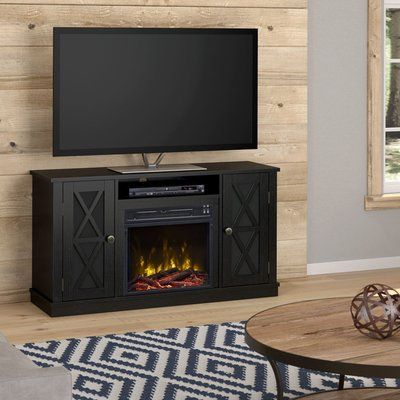 """Breakwater Bay Emelia Tv Stand For Tvs Up To 50 Inches With Regard To Most Recently Released Neilsen Tv Stands For Tvs Up To 50"""" With Fireplace Included (View 5 of 15)"""
