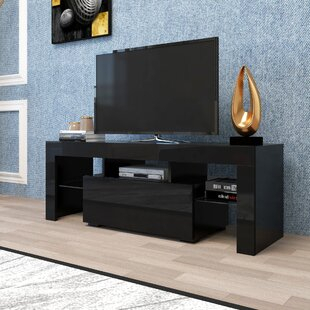 """# Bridgeman Solid Wood Tv Stand For Tvs Up To 75Loon For Current Chrissy Tv Stands For Tvs Up To 75"""" (View 3 of 15)"""