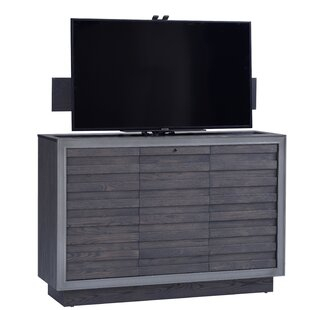 """# Bridgeman Solid Wood Tv Stand For Tvs Up To 75Loon Within Most Recent Chrissy Tv Stands For Tvs Up To 75"""" (View 9 of 15)"""