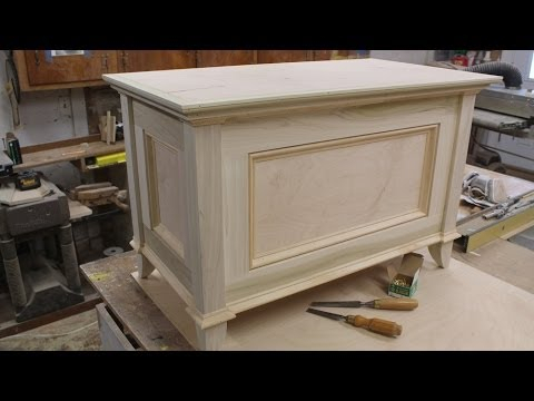 Build A Blanket Chest Part 2 Making The Topjon Peters With Regard To Well Liked Fancy Tv Stands (View 5 of 15)