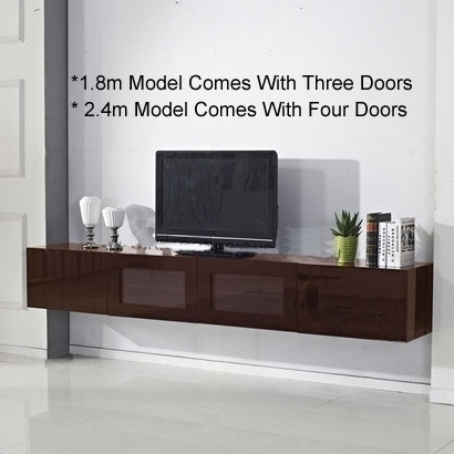 """Buy For Latest 47"""" Tv Stands High Gloss Tv Cabinet With 2 Drawers (View 6 of 15)"""
