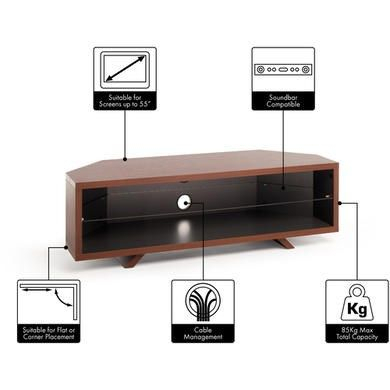 """Buy Techlink Dl115Dosg Dual Corner Tv Stand For Up To 55 With Trendy Lansing Tv Stands For Tvs Up To 55"""" (View 13 of 15)"""