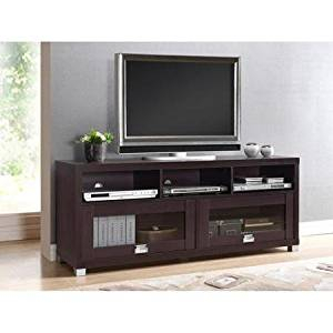 """Buy Techni Mobili Durbin Cappuccino Tv Stand For Tvs Up To In Most Recently Released Techni Mobili 53"""" Driftwood Tv Stands In Grey (View 14 of 15)"""