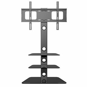 Cantilever Tv Stand With Mount Bracket 3 Shelves For 27 Throughout Famous Cheap Cantilever Tv Stands (View 4 of 15)