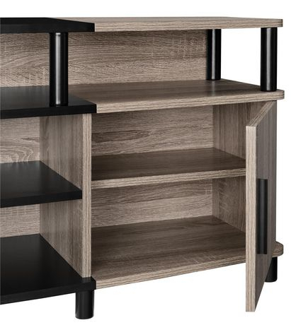"""Carson Tv Stand For Tvs Up To 70"""", Distressed Gray Oak Pertaining To Most Up To Date Broward Tv Stands For Tvs Up To 70"""" (View 9 of 15)"""