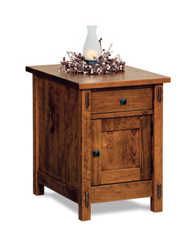 Centennial Enclosed End Table With Drawer And Door Within Best And Newest Dark Brown Tv Cabinets With 2 Sliding Doors And Drawer (View 13 of 15)