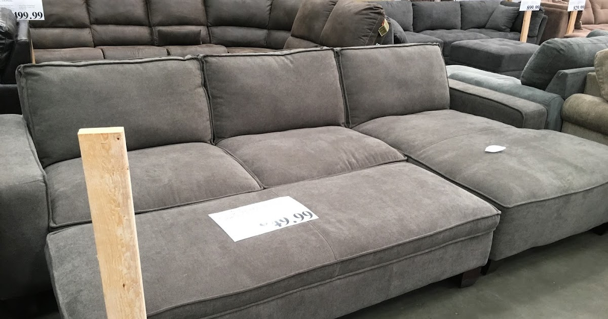 Chaise Sectional Sofa With Storage Ottoman   Costco Weekender Within Sectional Sofas With Storage (View 12 of 15)