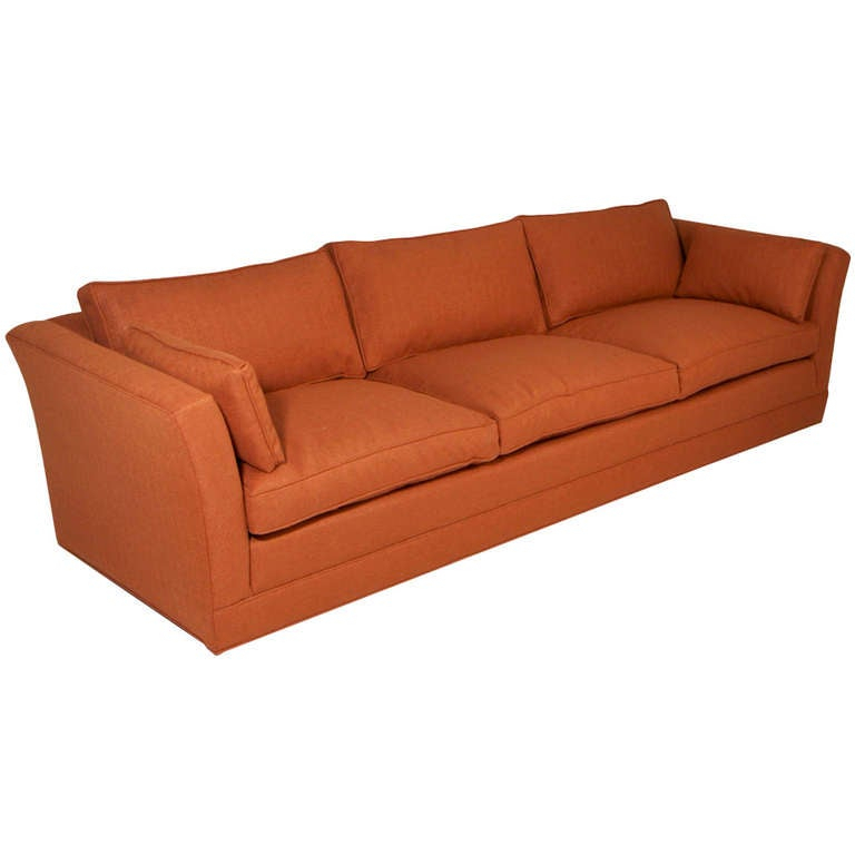 Comfortable Vintage Sofa With Down Filled Cushions In The Throughout Down Filled Sofas (View 12 of 15)