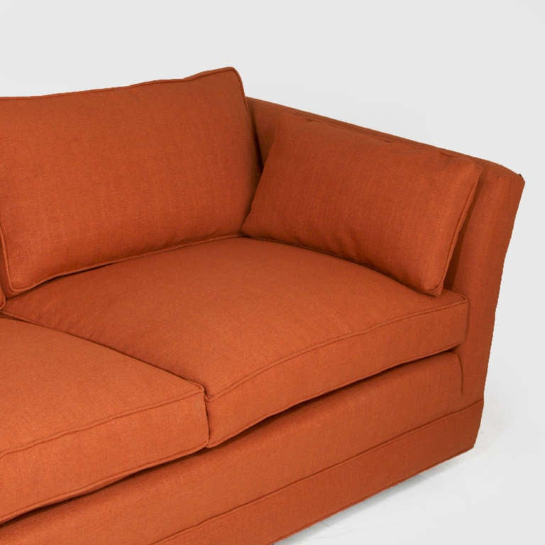 Comfortable Vintage Sofa With Down Filled Cushions In The Within Down Filled Sofas (View 14 of 15)