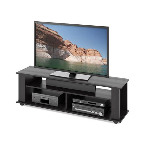 """Corliving Ravenwood Black Tv Stand, For Tvs Up To 65"""" Tv For Widely Used Jowers Tv Stands For Tvs Up To 65"""" (View 7 of 15)"""