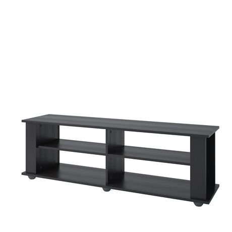 """Corliving Ravenwood Black Tv Stand, For Tvs Up To 68 For Current Jowers Tv Stands For Tvs Up To 65"""" (View 12 of 15)"""