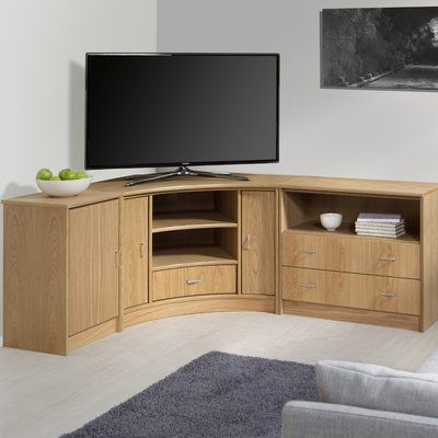"""Corner Entertainment Unit For Tvs Up To 50"""" (View 8 of 15)"""