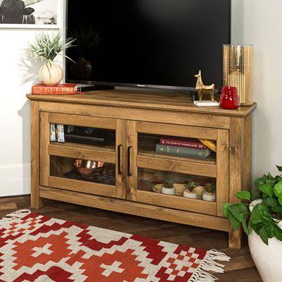 Corner Tv, Oak Corner Tv Intended For Recent Retro Corner Tv Stands (View 10 of 15)