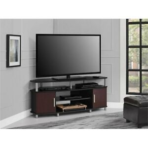 Corner Tv Stand Panel Televisions 50 Inch Wide Media Regarding 2017 Tv Stands For Corners (View 14 of 15)