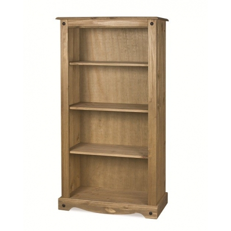 Corona Medium 3 Shelf Bookcase – J&B Furniture With Regard To Popular Corona Small Tv Stands (View 3 of 15)
