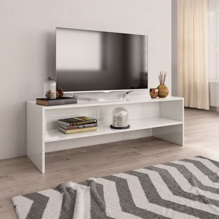 Crazy With 2017 White High Gloss Tv Stands (View 6 of 15)