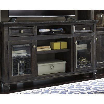"""Current Chrissy Tv Stands For Tvs Up To 75"""" For Carlene Solid Wood Tv Stand For Tvs Up To 75"""" (View 2 of 15)"""