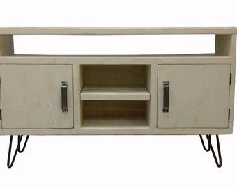 Current French Country Tv Stands For Wooden Tv Stand / Rustic Tv Stand / 8 Feet Tv Console (View 1 of 15)