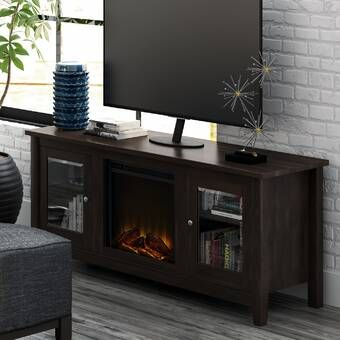 """Current Jowers Tv Stands For Tvs Up To 65"""" Intended For Whittier Tv Stand For Tvs Up To 65"""" With Electric (View 9 of 15)"""