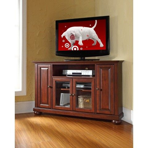 """Current Mahogany Tv Stands Within Alexandria Corner Tv Stand For Tvs Up To 48"""" Mahogany (View 6 of 15)"""