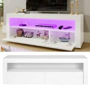 Current Modern White Gloss Tv Stands Pertaining To Modern Tv Unit 160Cm Cabinet White Glossy White High Gloss (View 15 of 15)