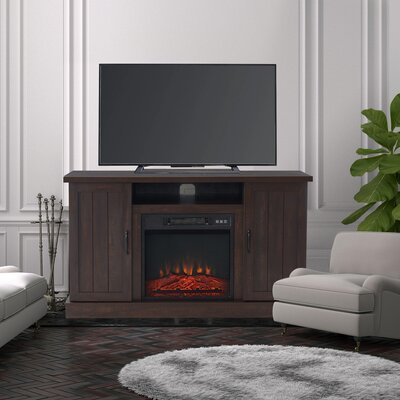 """Current Neilsen Tv Stands For Tvs Up To 50"""" With Fireplace Included Within Gracie Oaks Grzedzinska Tv Stand For Tvs Up To 50"""" With (View 6 of 15)"""