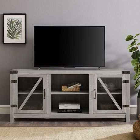 Current Rustic Tv Stands For Manor Park Rustic Farmhouse Tv Stand For Tv'S Up To  (View 11 of 15)