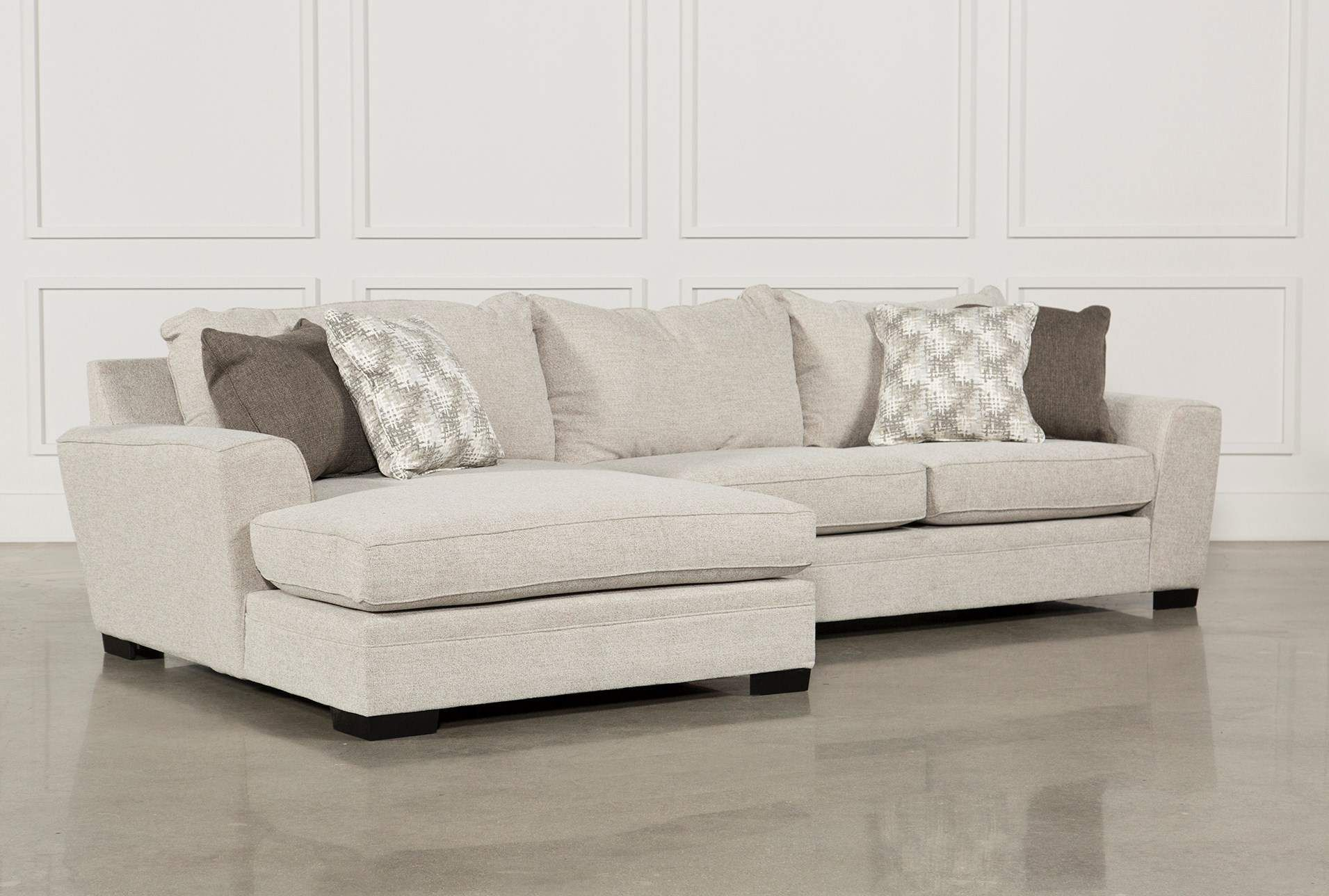Delano 2 Piece Sectional W/Laf Oversized Chaise | Living In Turdur 2 Piece Sectionals With Laf Loveseat (View 5 of 15)