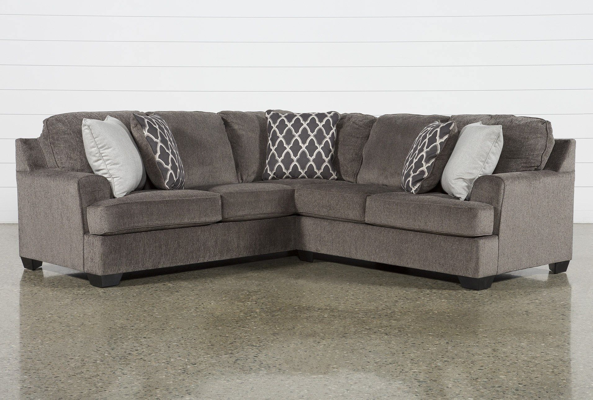 Devonwood 2 Piece Sectional With Right Arm Facing Loveseat Intended For Turdur 2 Piece Sectionals With Laf Loveseat (View 15 of 15)