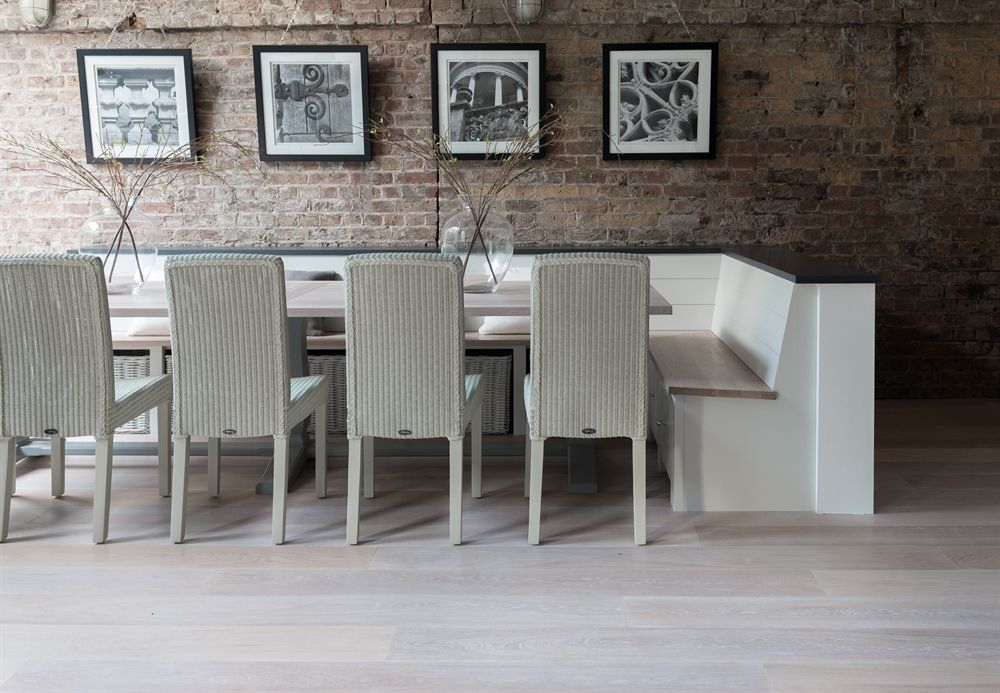 Dining Chairs | Lloyd Loom Chair, Dining Room Design With Regard To Debbie Coil Sectional Sofas (View 15 of 15)