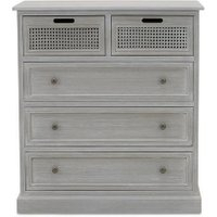 Dunelm 5054077927222 Lucy Cane Grey Corner Tv Stand Slate For Trendy Bromley Slate Corner Tv Stands (View 8 of 15)