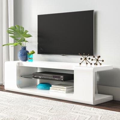 """Ebern Designs Shropshire Tv Stand For Tvs Up To 65 Inches Throughout Current Totally Tv Stands For Tvs Up To 65"""" (View 14 of 15)"""