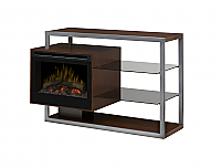 Electric Fireplace Tv Stands – Free Shipping For Most Current Wide Tv Stands Entertainment Center Columbia Walnut/Black (View 9 of 15)