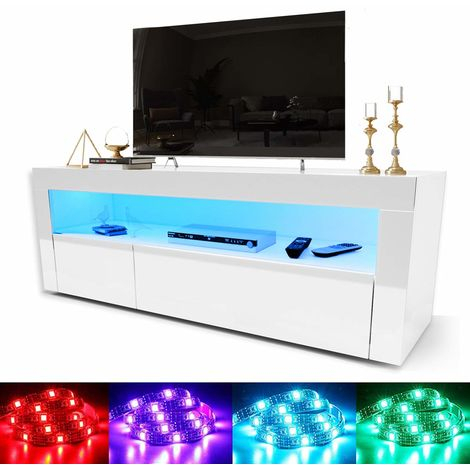 Elegant 1200Mm Modern High Gloss Tv Stand Cabinet With With Regard To Recent Modern White Gloss Tv Stands (View 11 of 15)