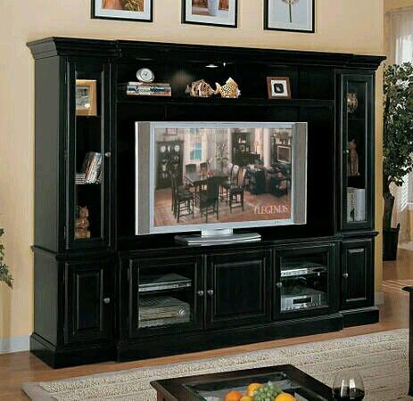 Entertainment Wall Units, Legends In Latest Dillon Black Tv Unit Stands (View 9 of 15)