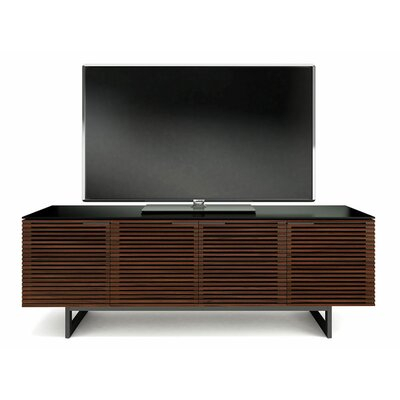 """Famous 65 Inch Tv Stands With Integrated Mount Within Bdi Usa Avion Noir Ii 65"""" Tv Stand (View 9 of 15)"""