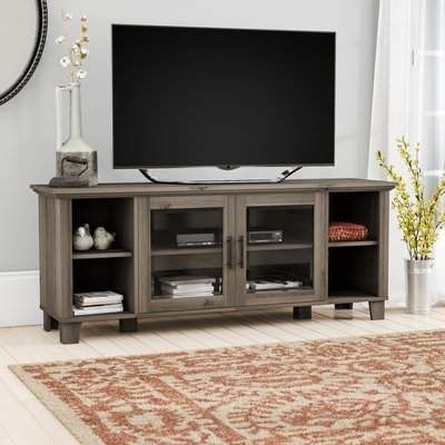 Famous Bromley Grey Corner Tv Stands Regarding Birch Lane™ Heritage Wingert Tv Stand For Tvs Up To  (View 4 of 15)