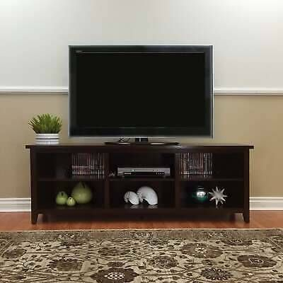 Famous Dark Wood Tv Stands With & Brookdale Dark Walnut Tv Stand Walnut Transitional In (View 1 of 15)