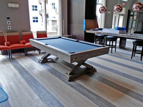 Famous Penelope Dove Grey Tv Stands With Regard To Brunswick Brixton Pool Table (View 13 of 15)