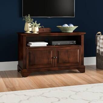"""Fashionable Baba Tv Stands For Tvs Up To 55"""" Throughout Laurel Foundry Modern Farmhouse Gerardo Corner Tv Stand (View 10 of 15)"""