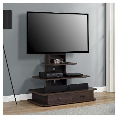 """Fashionable Broward Tv Stands For Tvs Up To 70"""" Pertaining To Solar Tv Stand For Tvs Up To 70"""" With Mount And Drawers (View 7 of 15)"""