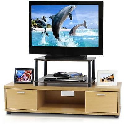 Fashionable Furinno 2 Tier Elevated Tv Stands In Furinno Turn N Tube No Tools 2 Tier Elevated Tv Stand (View 6 of 15)